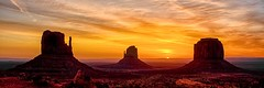 a new day - explore # 1 (Marvin Bredel) Tags: arizona sky sun clouds sunrise landscape utah interestingness indian nativeamerican redrocks navajo monumentvalley mittens americanindian buttes oldwest americansouthwest coloradoplateau merrickbutte westmittenbutte explorenumber1 eastmittenbutte marvinbredel september22013