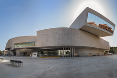 MAXXI  National Museum of the 21st Century Arts (Demis de Haan) Tags: italy panorama rome roma building art museum architecture creativity 10 pano 21st national 1998 years architectuur 2010 zaha hadid maxxi