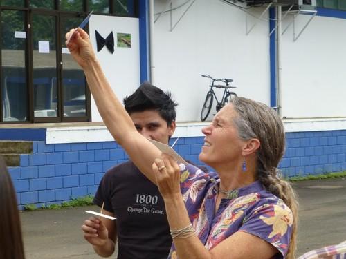 Taller Migración de Gavilanes, TEC Santa Clara 2013