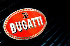 Bugatti Veyron emblem (daviwie) Tags: vienna wien bw white black austria blackwhite österreich brakes rims bugatti veyron oesterreich