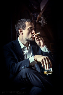 Cigar and Whisky - personal portrait