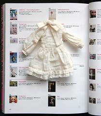 Dress by me in Blythe Metamorphosis book