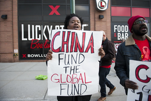 New York: China Global Fund Protest (10/24/13)