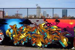 LAND OF THE MIDNIGHT SUN (ALL CHROME) Tags: streetart canon graffiti sucks kemer kem allchrome kem5 kems kemr