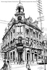 Porto Alegre Palácio Chaves Rua dos Andradas esquina Gen Câmara