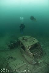 VW. Beetle. 14. (hsacdirk) Tags: fish water diving fresh fisheye 16mm d3 wrecks