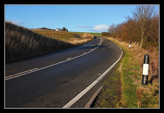 (No Longer) Around The Bend (K-Burn) Tags: road abandoned angus lunan bends a92 hawkhill bigtreebends