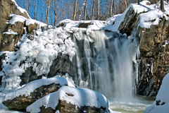 Frozen Kilgore Falls (WabbyTwaxx) Tags: park cold fall ice water frozen waterfall md rocks state snowy snowstorm maryland falls covered icy kilgore
