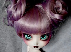 Effie ~ (~ Akai Arashi ~ [I do NOT accept comissions!]) Tags: face up angel fire gate doll games hunger catching pullip custom effie trinket