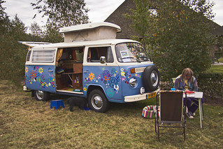Outdoor life with hippie bus anno 2013 ☺! (3246)