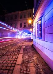 EMERGENCY! (wilsonaxpe) Tags: blue prague praha ambulance emergency wilsonaxpe lessertownprague
