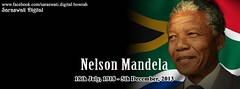 Nelson Mandela (saraswatidigital) Tags: wallpaper photomanipulation photoshop poster southafrica graphicdesign card greetings patriot coreldraw ecard greetingscard politicalparty freedomfighter politicalleader facebookcoverphoto saraswatidigital