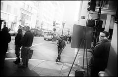 Union Square (icki) Tags: sanfrancisco california ca street blackandwhite downtown santaclause unionsquare december2013