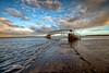 Sunrise at the Bridge to No Where (MacLeanPhotographic) Tags: bridge sunrise scotland nikon nikkor d800 eastlothian belhavenbay bridgetonowhere nikon1735f28 lee09ndgrad