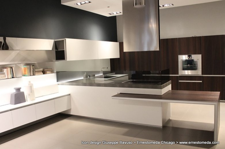 Icon Design Giuseppe Bavuso @ Ernestomeda Chicago (ernestomeda) Tags:  Chicago Kitchen Design Kitchens