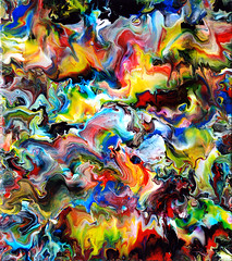 Fluid Painting 79 Acrylic On Canvas (markchadwickart) Tags: pink blue red white abstract black color colour green art yellow painting flow movement colorful paint artist acrylic purple mark vibrant fine vivid move canvas fluid painter flowing colourful liquid chadwick fluidity