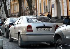 5256КИМ (Vetal_888) Tags: ukraine kyiv licenseplates skoda octavia україна київ номернізнаки 5256ким