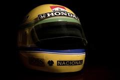 The best, forever! (Alex Silva de Aguiar) Tags: rip helmet legend senna thebest miniatura historico capacete piloto omelhor descanseempaz