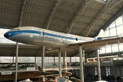 Caravelle - Brussels Aviation Museum (phil_king) Tags: brussels museum belgium display aircraft aviation bruxelles aeroplane preserved airliner sud caravelle