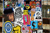 stickers (wojofoto) Tags: amsterdam streetart wojofoto stickers stickerart reribs tona wojo sticker wolfgangjosten nol isoe gewoonnix bunnybrigade