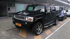 Hummer H2 (sjoerd.wijsman) Tags: auto holland cars netherlands car rotterdam gm nederland thenetherlands voiture hummerh2 vehicle holanda autos suv hummer h2 paysbas olanda fahrzeug niederlande generalmotors zuidholland carspotting hcar carspot 98hxx4 sidecode7