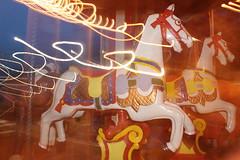 (Sin Herbert) Tags: longexposure light horse berlin canon germany caballo circo bright fairground circus surreal fair alemania carosel berliner