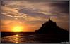Le Mont Saint Michel (Solasaga) Tags: sol stmichel puesta francia normandia solasaga