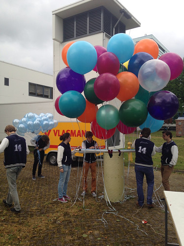 Heliumballonnen 90cm TU Delft