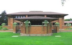 Darwin D. Martin House V (hansn (2.5+ Million Views)) Tags: usa house architecture modern buffalo contemporary franklloydwright architect prairieschool flw arkitektur arkitekt darwindmartinhouse darwindmartin