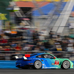 Team Falken Tire Porsche 911 RSR racing in top-five at Daytona