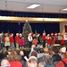 First-Graders Singing At The Christmas Concert