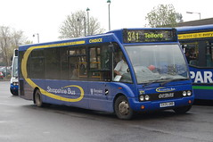 Choice Optare Solo 171 DX05OMB - Market Drayton (dwb transport photos) Tags: bus solo choice 171 marketdrayton optare sx05omb