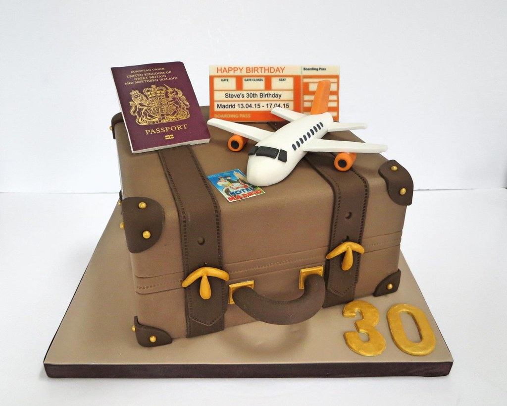 The Worlds Most Recently Posted Photos Of Cake And Suitcase