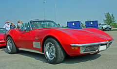 1972 Chevrolet Corvette Stingray (crusaderstgeorge) Tags: red cars chevrolet sweden stingray sverige 1972 corvette classiccars americancars redcars 1972chevroletcorvettestingray