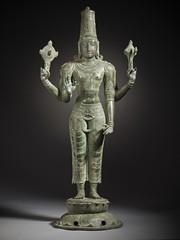 The Hindu God Vishnu LACMA M.70.5.1 (3 of 12) (Fæ) Tags: ca losangeles unitedstates wikimediacommons photographersoliver departmentsouthandsoutheastasianart imagesfromlacmauploadedbyfæ sculpturesfromindiainthelosangelescountymuseumofart