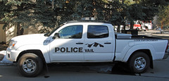 Vail Police Code Enforcement (zamboni-man) Tags: city winter mountains public creek river fire town skiing village state eagle cities rocky police battle villages beaver valley vail gore sheriff championships towns ems avon command patrol fis whelen 2015 safey
