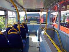 GAL EH52 - YX16OCH - INTERIOR - BV GARAGE - 28TH APR 2016 G (Bexleybus) Tags: bus london ahead interior garage go 400 belvedere dennis mmc bv enviro adl goahead eh52 yx16och