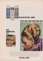 Pantene 1965 (moogirl2) Tags: vintage mod retro vogue 1960s 1965 pantene vintageads 60sfashion vintagevogue