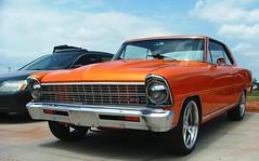 Nova SS (2) (jHc__johart) Tags: auto orange chevrolet oklahoma automobile novass