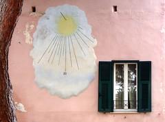 una meridiana a Spotorno (fotomie2009) Tags: italy italia liguria orologio meridiana solare spotorno sudial