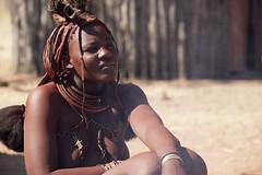 Himba - Namibia (wietsej) Tags: woman sony namibia 70200 himba a900 sal70200g