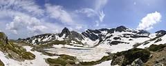 Seven Lakes Of Rila #1 (Dime Pashoski) Tags: panorama mountain snow nature lakes rila seven