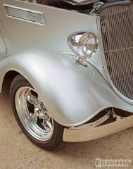 Silver Fender (FilmAmmo) Tags: 120 film mediumformat carshow salinaks pentax6x7 kodakektar paulhargett filmammo