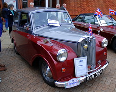 Triumph Mayflower, Stratford-upon-Avon Festival of Motoring 2016. (Roly-sisaphus) Tags: uk greatbritain england cars unitedkingdom gb warwickshire automobiles stratforduponavon midlands festivalofmotoring nikond802016dsc0585