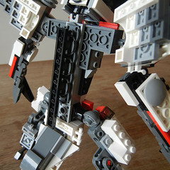 DSCN6688 (alfa145q_lego) Tags: lego legocreator vehicletransporter 31033 alternate futureflyers 31034 mecha rebuild