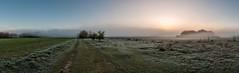 Nebelpanorama (webpinsel) Tags: panorama nebel natur landschaft frühling morgendämmerung halternamsee hullern