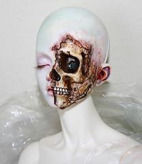 Popo Doll Ramiel (ok2la) Tags: white dead skeleton death skull doll skin sean bjd popo ws img0236 ramiel popodoll