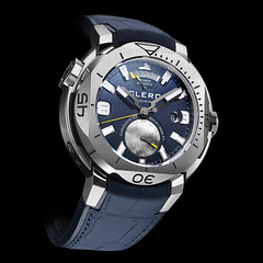 Clerc Hydroscaph GMT Power-Reserve Chronometer Watch (www.Boxfox1.com) Tags: swiss watch chronometer gmt 2016 clerc powerreserve hydroscaph