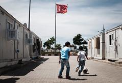 Kickabout (jonny hogg) Tags: football flag soccer refugees middleeast un syria turkish humanitarian wfp
