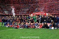 Barcelona vs Sevilla (Kwmrm93) Tags: barcelona sports sport canon football fussball soccer celebration final futbol celebrate futebol copadelrey fotball celebrating voetbal fodbold calcio deportivo fotboll  deportiva esport fusball  fotbal jalkapallo  nogomet vicentecalderon fudbal  votebol fodbal